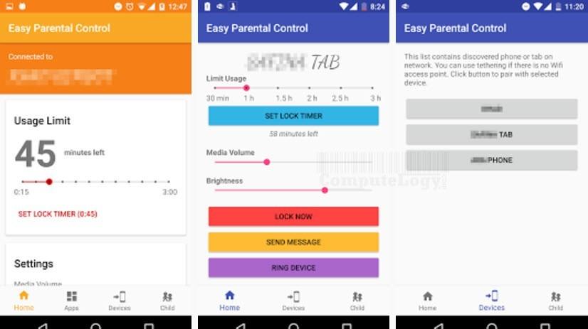 Easy Parental Control Pro app banner