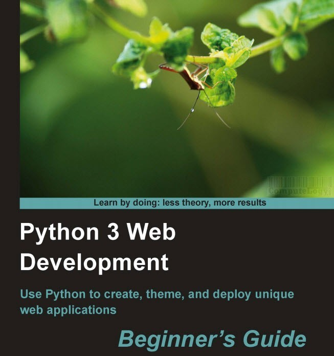 Python 3 Web Development Beginner Guide book title cover page