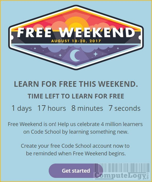 code-school-free-weekend-courses-offer-banner