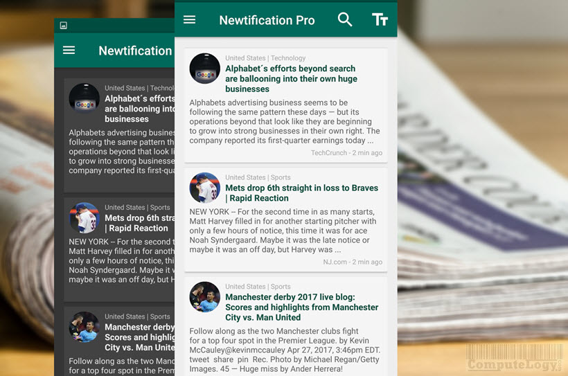 News by Notifications PRO app banner