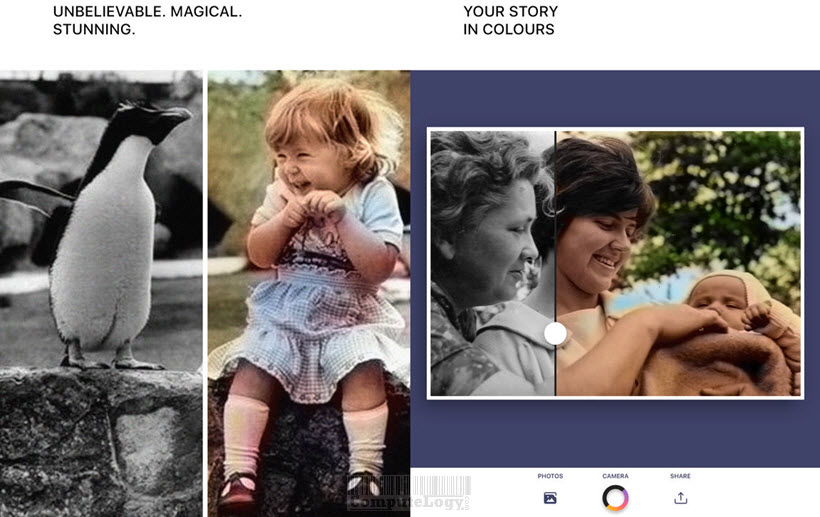 Spectrum - Colorize photos in black and white - ios iphone ipad app banner