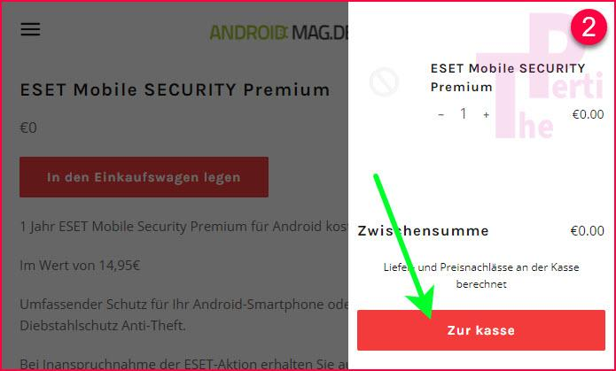 ESET Mobile Security & Antivirus Premium 1 Year FREE for