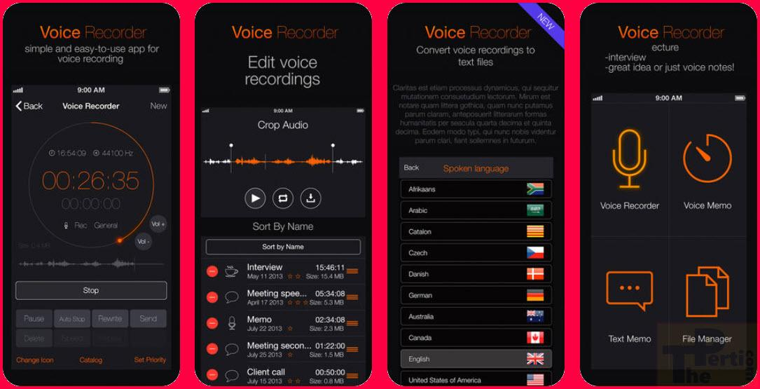 Voice Record App For Mac