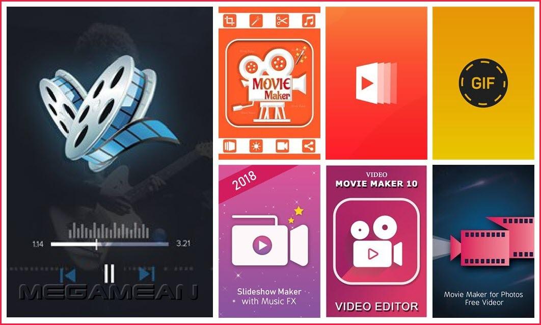 Movie Maker, Video Editor, Slideshow Maker, GIF Maker – 7